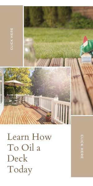 How To Oil a Deck