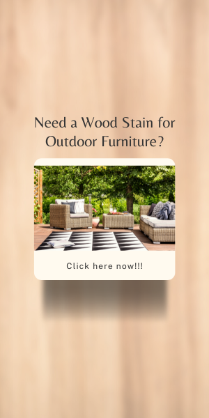 Wood Stain for Outdoor Furniture